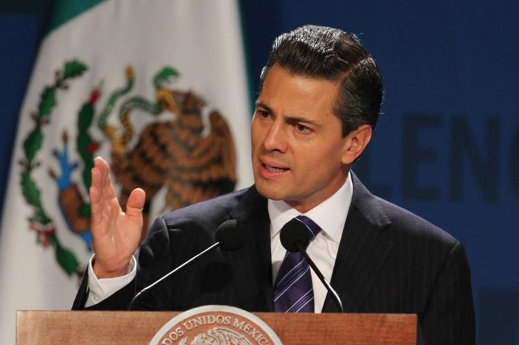 Enrique Peña Nieto se reúne con Donald Trump, candidato presidencial republicano de EEUU.