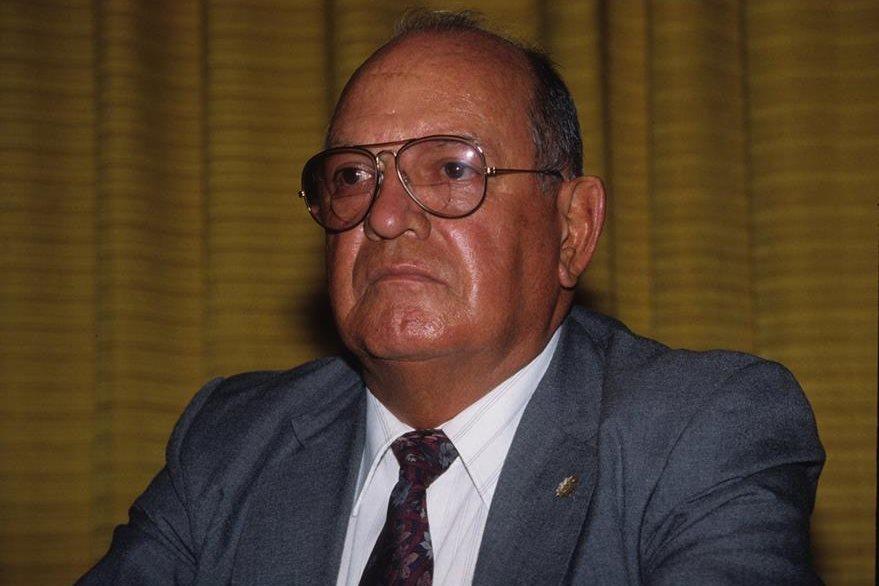 Óscar Mejía Víctores dio golpe de Estado a Efraín Ríos Montt en 1984. (Foto: Hemeroteca PL)