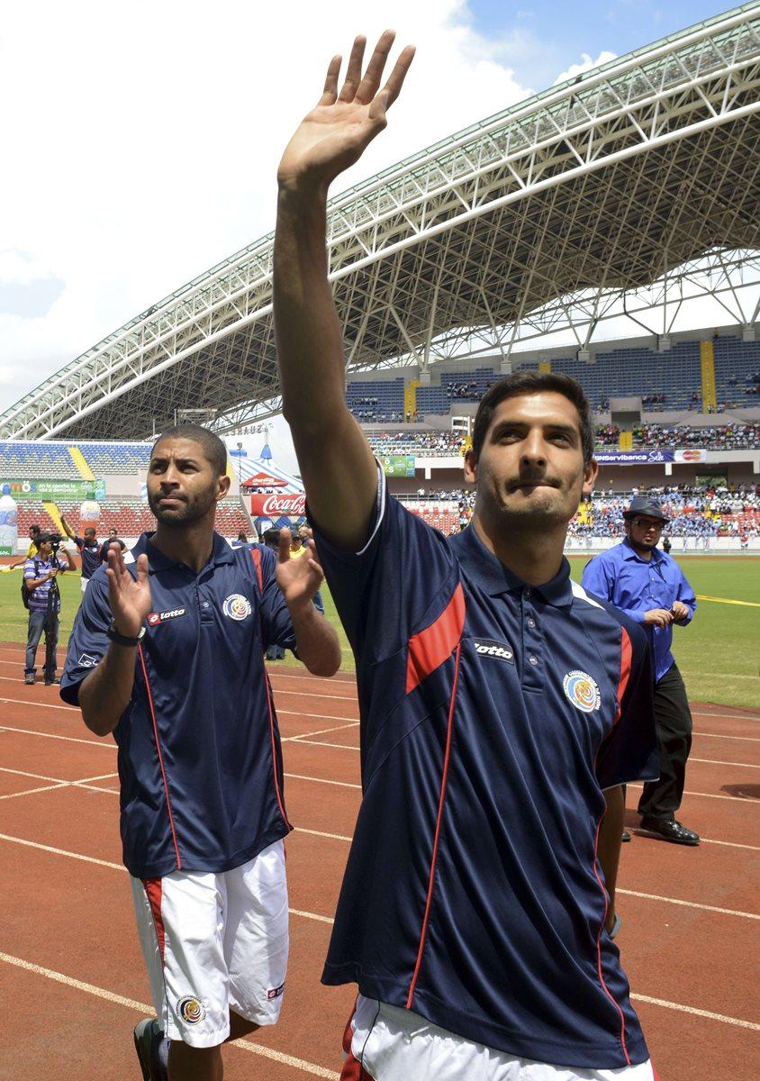 El costarricense Saborío se retirará del futbol activo. (Foto Prensa Libre: Hemeroteca PL)