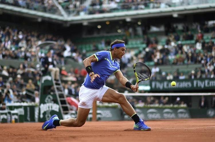 El español Rafael Nadal buscará ganar por décima vez en Roland Garros. (Foto Prensa Libre: AFP).