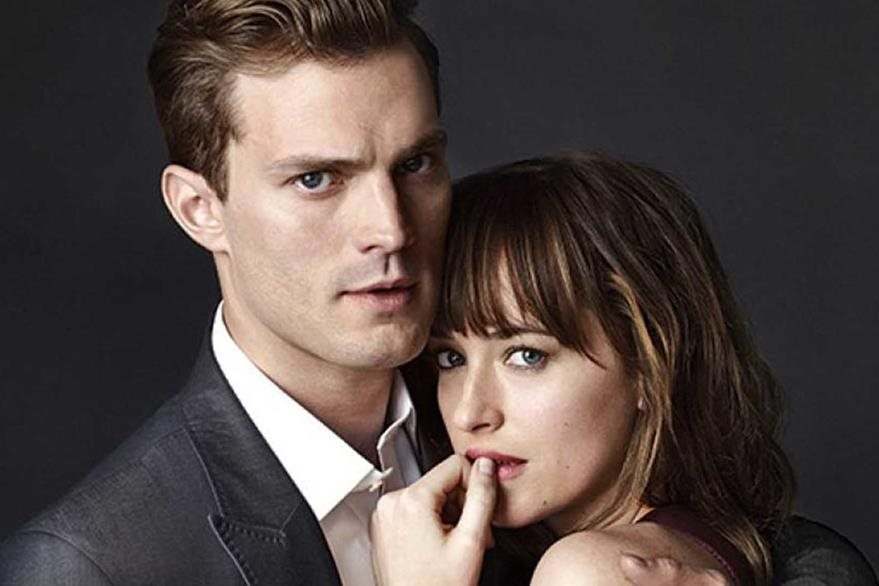 Jamie Dornan y Dakota Johnson.