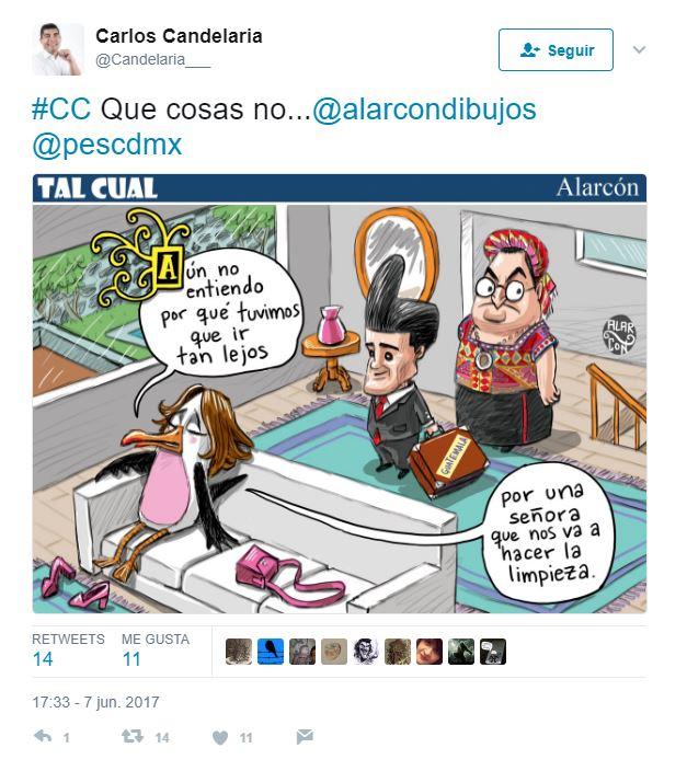 Caricatura en diario mexicano indigna a Guatemala, que advierte acción legal