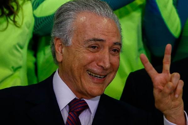 Michel Temer, presidente de Brasil.(EFE).