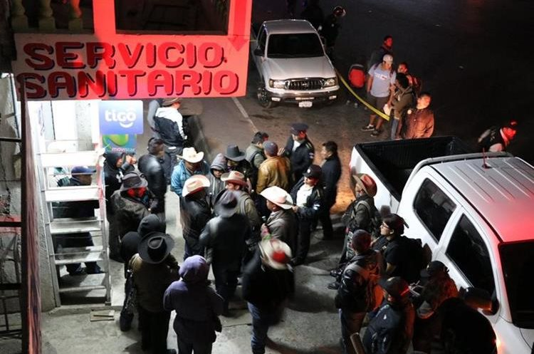 En este lugar de la aldea Los Encuentro, Sololá, ocurrieron los hechos. (Foto Prensa Libre: Ángel Julajuj)