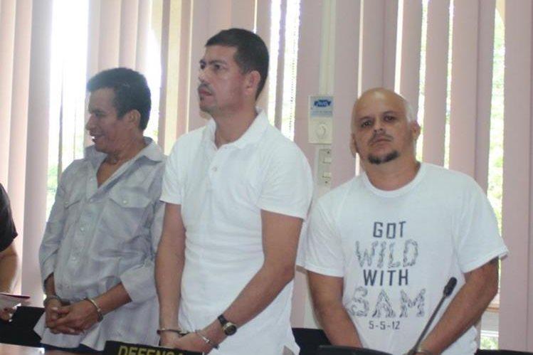 Tres integrantes de la banda Falsos Pastores fueron sentenciados a 25 años por plagio o secuestro. (Foto Prensa Libre: Rigoberto Escobar)