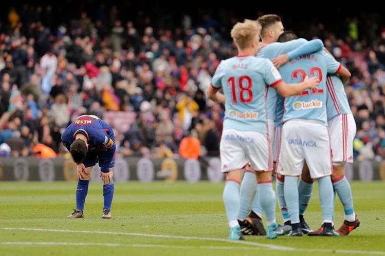 Barcelona: Umtiti se lesiona ante el Celta y ve peligrar el Clásico