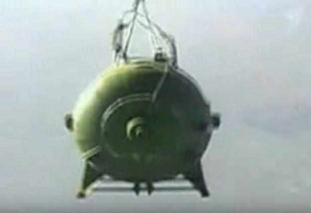Rusia probó en 2007 la Bomba Aérea de Vacío de Potencia Aumentada a la que considera el mayor explosivo no nuclear que existe en el planeta. AFP
