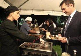 Empresarios americanos y guatemaltecos buscan reactivar compra y venta de carne de cordero. (Foto Prensa Libre: Carlos Hernández)
