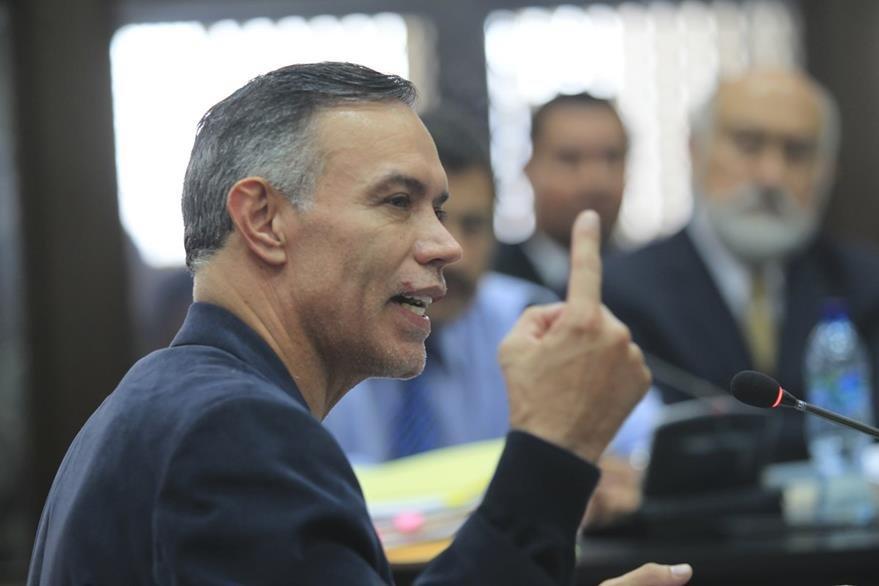 Juan De Dios Rodriguez, expresidente del IGSS, involucrado en un contrato irregular con la empresa Pisa.( Foto Prensa Libre: Hemeroteca PL)