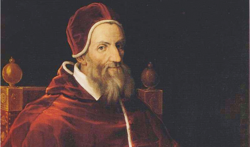 Retrato del papa Gregorio XIII quien reformó el calendario juliano, conocido después como gregoriano nombre que quedó para la posteridad en su honor. (Foto: Internet)