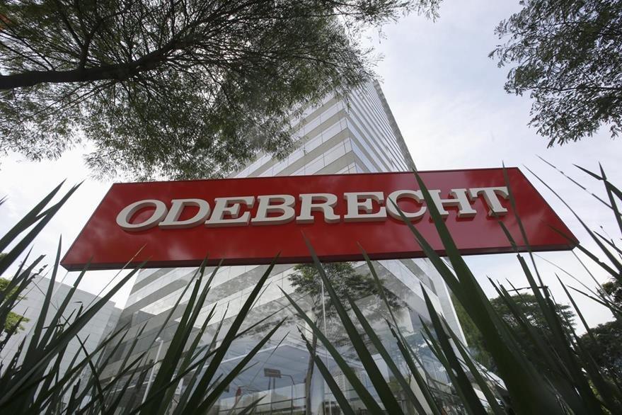 Fotografía de la sede de la constructora Odebrecht en Sao Paulo (Brasil). La firma enfrenta señalamientos de corrupción en varios países latinoamericanos. (Foto Prensa Libre: EFE).