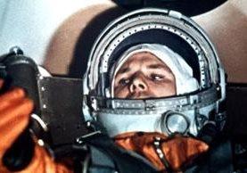 Yuri Gagarin, el hijo de campesinos soviéticos que conquistó el espacio. AP