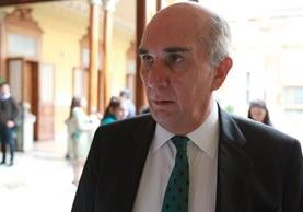 Mario Taracena es el presidente del Congreso, electo por el período 2016-2017. (Foto Prensa Libre: Hemeroteca PL)