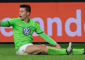 Julian Draxler vestirá los colores del PSG en enero próximo. (Foto Prensa Libre: AFP)