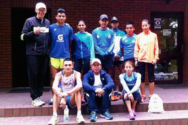 La Selección de Marcha se prepara en Europa, para los Juegos Panamericanos de Toronto 2015. (Foto Prensa Libre: Cortesía del COG)
