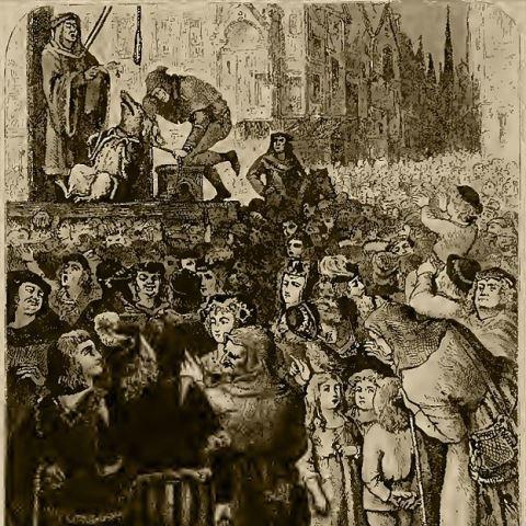 """Como los humanos, los animales eran ejecutados. Ilustración del libro de E.P. Evans """"El procesamiento y la pena de muerte de los animales"""". ILUSTRACIÓN DEL LIBRO DE E.P. EVANS"""