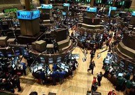 El distrito financiero de Wall Street en Nueva york. (Foto Prensa Libre: Hemeroteca PL)