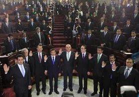 La directiva que presidió Mario Taracena asumió el 14 de enero del 2016; luego asumió Óscar Chinchilla. (Foto Prensa Libre: Hemeroteca PL)