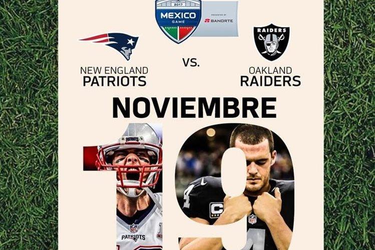 Duelo de NFL en el Azteca tendrá horario vespertino
