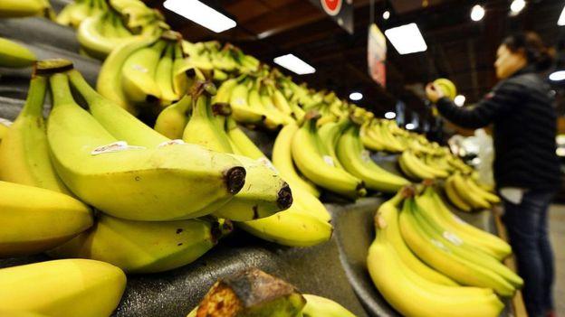 A inicios del siglo XX, el banano pasó de fruta exótica a la más consumida en EE.UU. AFP