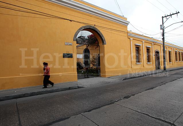 El IDAEH tiene su sede en las instalaciones del ex convento de Santo Domingo zona 1. (Foto: Hemeroteca PL)