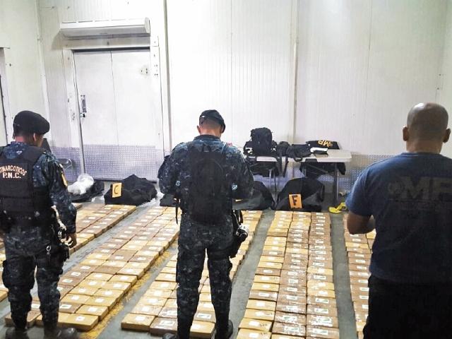 El 6 de agosto último, agentes de la PNC incautaron 139 kilos de heroína en el km 54.5 ruta a Palín.