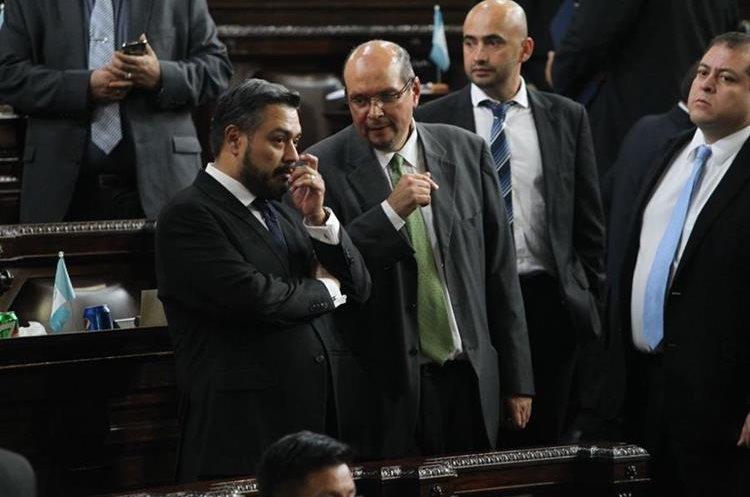 La alianza entre FCN-Nación y la UNE no han cuajado este año, excepto para concretar el Pacto de Corruptos. (Foto Prensa Libre: Hemeroteca PL)