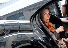 La fortuna de Liliane Bettencourt era estimada en unos US$40 millones. (Foto Prensa Libre: AFP)