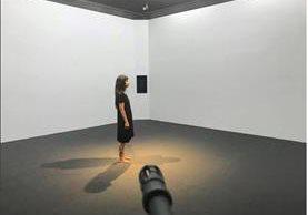 """""""Objetivo"""" es la instalación que Regina José Galindo expone en Alemania. (Foto Prensa Libre: Facebook Regina José Galindo)."""