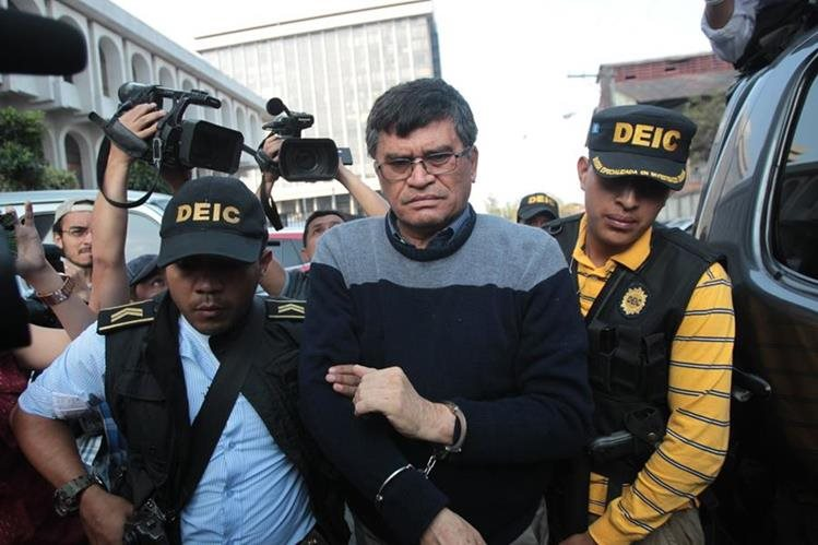 Arnoldo Medrano, fue capturado en febrero de 2016 tras permanecer casi 30 años en la alcaldía de Chinautla. (Foto Prensa Libre: Hemeroteca PL)