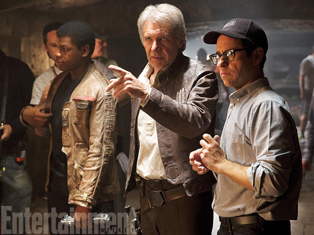 Harrison Ford durante la filmación. (Foto Prensa Libre: Entertainment Weekly)