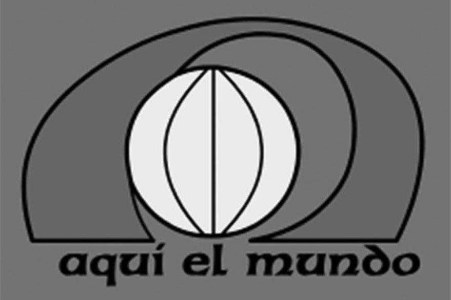 Logotipo del telenoticiero Aquí el Mundo.(Foto PL: internet)