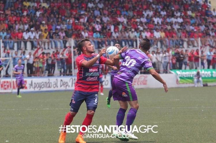 Malacateco cortó las esperanzas antigüeñas de revalidar su título. (Foto Prensa Libre: Antigua GFC/Facebook)