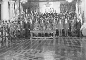 Imágenes de los momentos clave del golpe de estado ocurrido el 23 de marzo de 1982