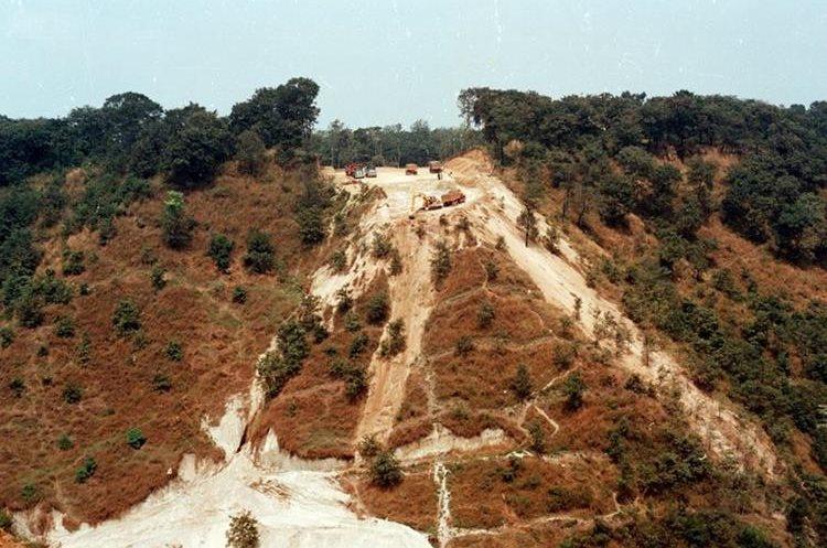 El proyecto El Naranjo ha sido construido en 20 años, ahora es un paso importante para la Ciudad de Guatemala.