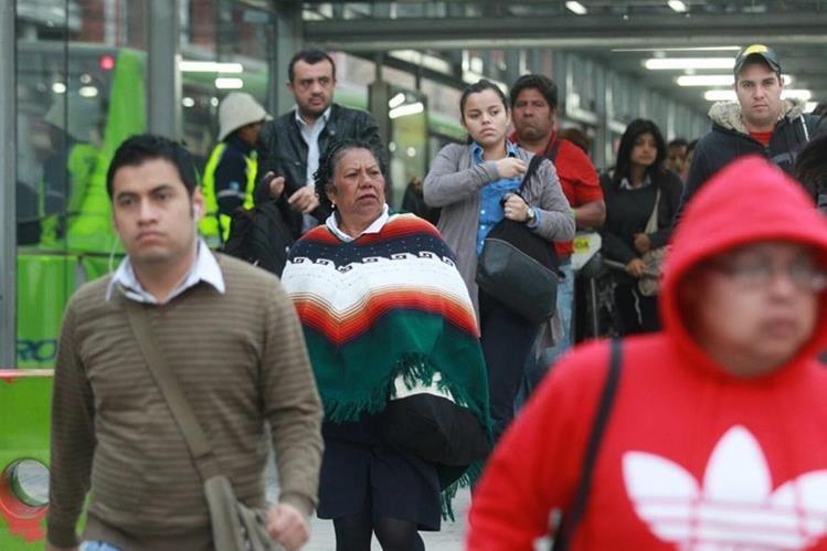 Las bajas temperaturas continuarán en los próximos días según el Insivumeh. (Foto Prensa Libre: E. Paredes)