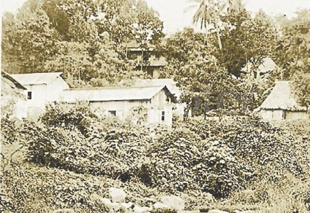 Mazatenango a finales del siglo XIX. (Foto: Hemeroteca PL)