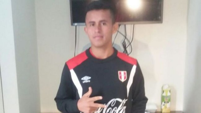 Vinladen Jiménez López jugará el Sudamericano Sub 15 con Perú. (Foto Internet)