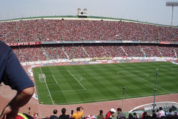 El estadio de Teherán es uno de los más grandes de Asia. (Foto Prensa Libre: Hemeroteca)