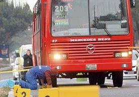 PILOTOS DE buses pagan extorsiones para evitar ataques en su contra, los cuales ponen en riesgo la vida de los usuarios.