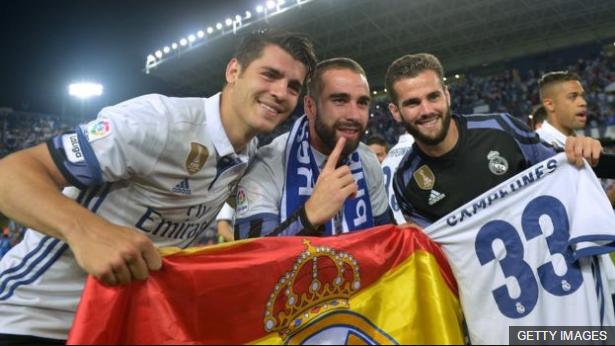 El Real Madrid es el club con máss ligas en el fútbol español.