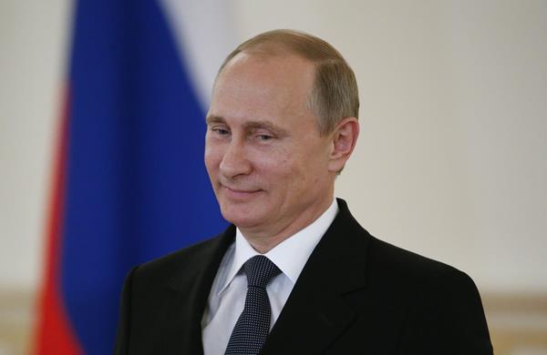 El presidente ruso Vladimir Putin durante una conferencia de prensa. (Foto Prensa Libre: HemerotecaPL)