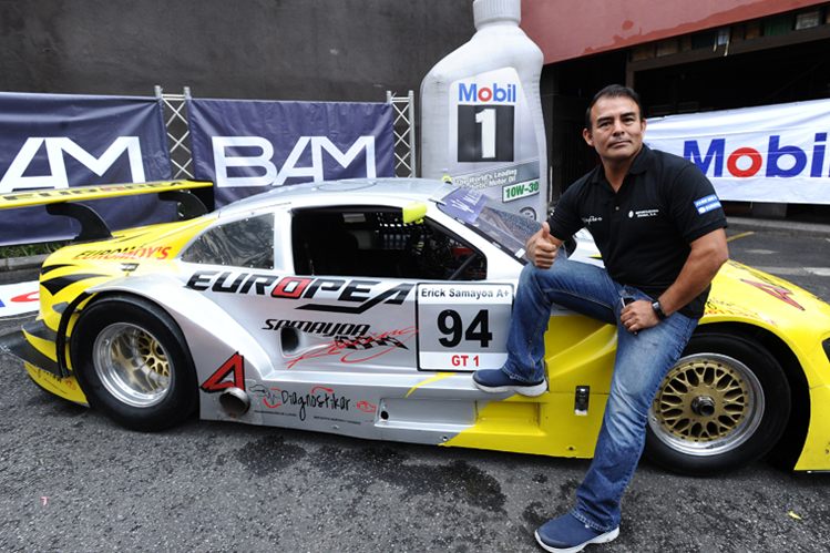 Érick Samayoa conducirá este fin de semana su Audi RS5 en el Autódromo Pedro Cofiño. (Foto Prensa Libre: Francisco Sánchez)