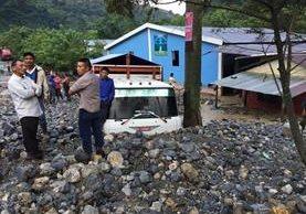 Cinco personas murieron la semana última en Pantic, Tamahú, Alta Verapaz, debido a un alud. (Foto Hemeroteca PL)