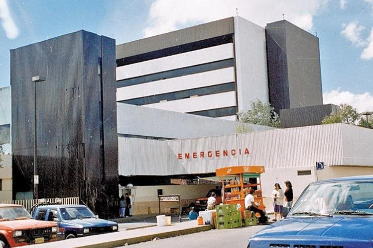 Instalaciones actuales del Hospital General San Juan de Dios.