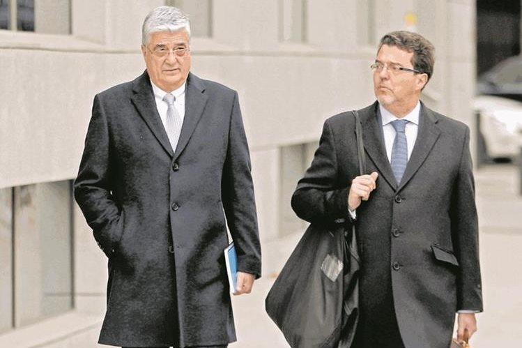 Carlos Vielmann, exministro de Gobernación, señalado por la ejecución de ocho reos en el caso Pavón. (Foto Prensa Libre: Hemeroteca PL)