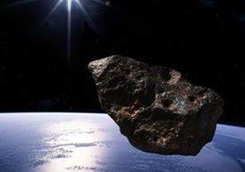 Ilustración artística del asteroide 2014-JO25. (Foto del sitio noticiasyactualidad.org)