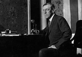 Woodrow Wilson fue presidente de Estados Unidos del 4 de marzo de 1913 al mismo día de 1921. GETTY IMAGES