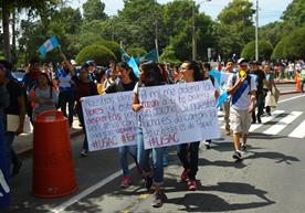 Indígenas y universitarios rechazan expulsión de Iván Velásquez