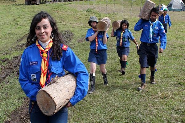 """<p>Jovénes, hombres y mujeres, así como niñas y niños participan en el campamento. (Foto Prensa Libre: Eduardo Sam Chun)<br _mce_bogus=""""1""""></p>"""